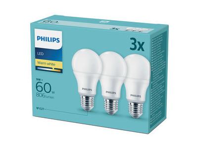 LED 60W A60 E27 230V WW FR 3CT PHILIPS