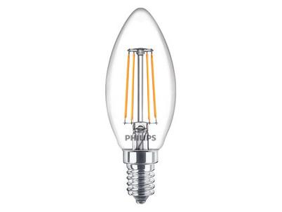 LED Classic FILAMENT 40W B35 E14 PHILIPS