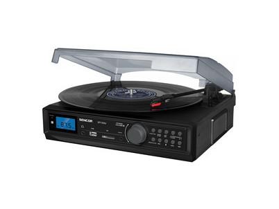 STT 212U Gramofón USB/SD/FM/BT SENCOR