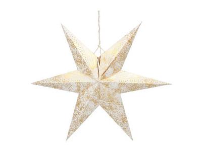 RXL 363 hviezda zlatá 10LED WW RETLUX