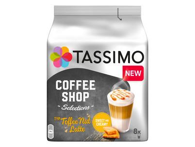 Tassimo Toffee Nut Latte kapsule 268g