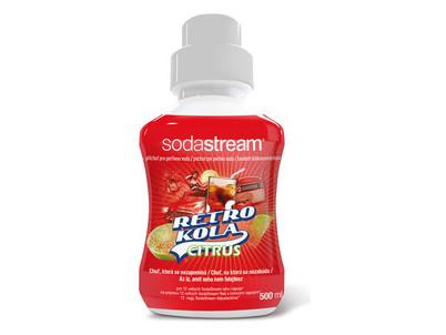 Sirup RETRO KOLA 500 ml SODASTREAM