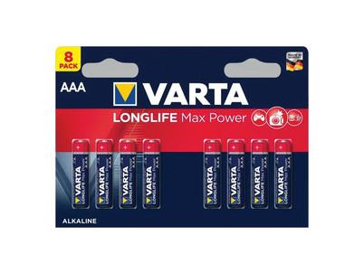 LR03 8BP AAA Longlife Max Power VARTA