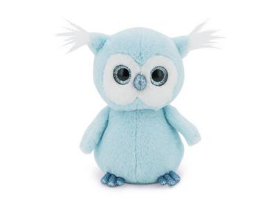 Fluffy sovička modrá ORANGE TOYS