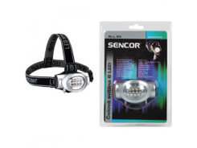 SLL 50 čelovka 8 LED 3xAAA SENCOR