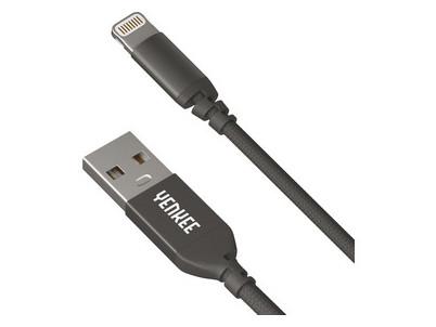 YCU 611 BK USB / lightning 1m YENKEE