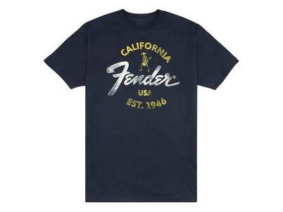 919-0117-506 FENDER tričko BAJA BLUE L