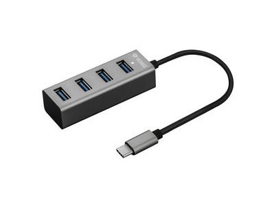 YHB C430 USB C Hub 4x USB 3.0 YENKEE