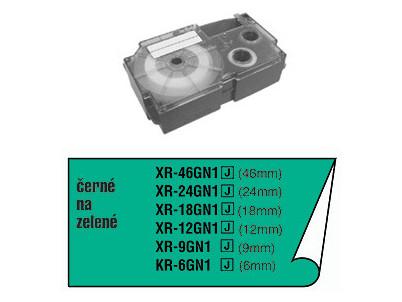 XR 6 GN1 (zelená, černý tisk) CASIO