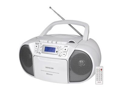 SPT 3907 W CD PLAYER/FM/BT/TAPE SENCOR
