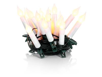 RXL 231 sviečky 20LED 5+5m WW TM RETLUX