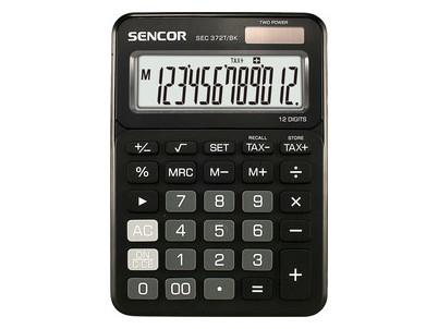 SEC 372T/BK čierna SENCOR