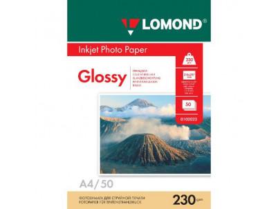LOM - Photo Inkjet Glossy 50x230g/m2 A4 0102022