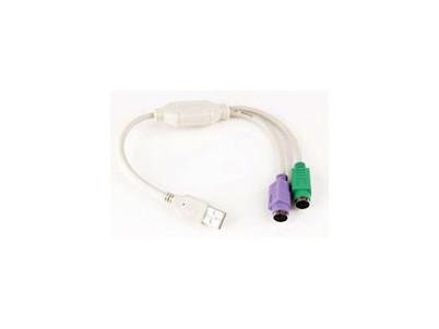 KABEL REDUKCIA PS/2 na USB - UAPS12