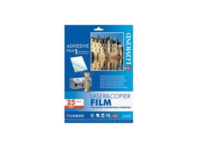 LOMOND PET film Laser A4/25 samolep. Clear 2800003