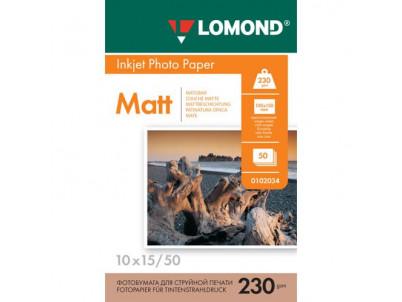 LOM Pho Inkj Matt 230g/m2 50/10x15 0102034