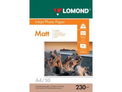 LOM - Pho Inkj Matt 230g/m2  50/A4 0102016
