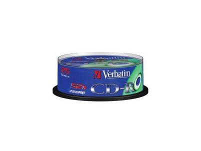 CD MED  VERBATIM 700MB 52speed 25cake 43432