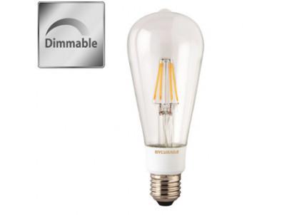 LED Sylvania RETRO ST64 E27 5,5W 640lm 2700K Stmie