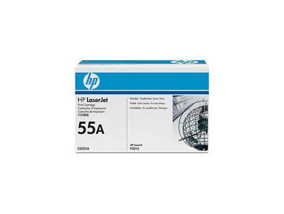 HP Toner  CE255A black