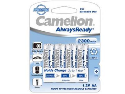 CAMELION Batérie nabíjateľné PREMIUM AA 4ks 2300mA