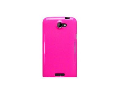 OEM Ochranný kryt pre HTC One X Hot Pink (sýta ruž