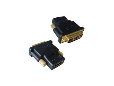Redukcia z DVI male na HDMI female pozlat. konekt.