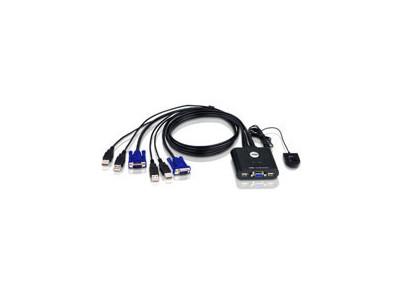ATEN CS22U-A7 KVM prepínač pre 2PC/VGA/USB