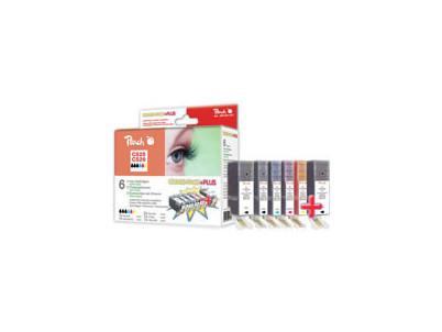 Cartridge Peach kom.pack CANON CLI526XL PI100-141