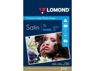 LOM Photo Inkjet Satin 20x270g 10x15cm 1106201
