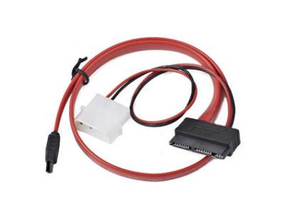 Kabel z mikroSATA na SATA