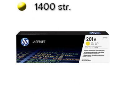 HP Toner HP 201A LaserJet CF402A yellow