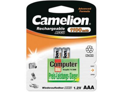 CAMELION Batérie nabíjateľné AAA 2ks NI-MH 1100mAh