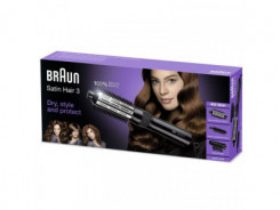 BRAUN Satin Hair 3 Teplovdušná kulma AS330