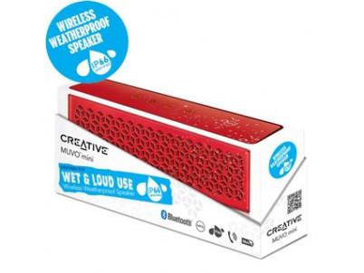 Reproduktory CREATIVE -- MUVO mini red