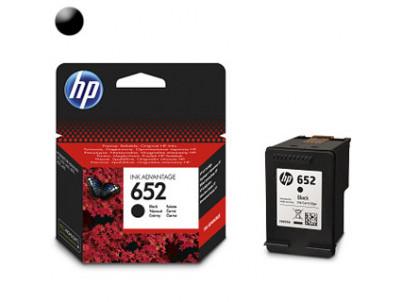 HP Cartridge HP 652 Black 6ml