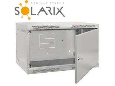 SOLARIX Nástenný rozvádzač SENSA 15U 400mm, plech