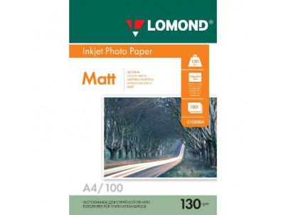 LOM - Pho Inkj Matt 130g/m2  100/A4 DS