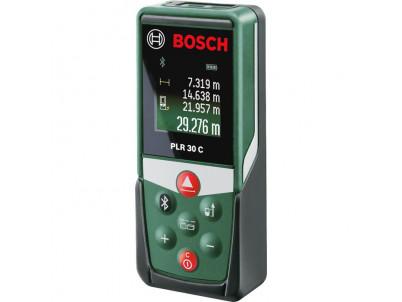BOSCH PLR 30 C laserový diaľkomer