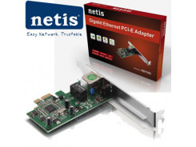 NETIS PCIe sieťová karta 10/ 100/ 1000 PCIe AD1103