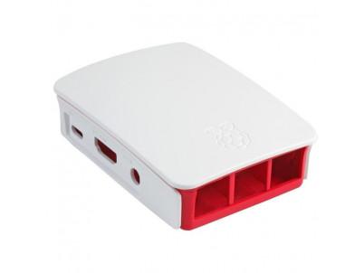 RASPBERRY Biela skrinka pre Raspberry Pi 3B/3B+