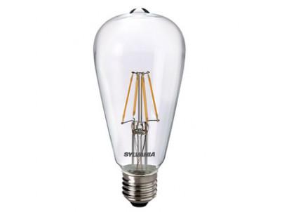 LED Sylvania RETRO ST64 E27 4W 470lm 2700K