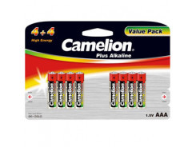 CAMELION Batérie alkalické PLUS AAA 8ks LR03 BP8