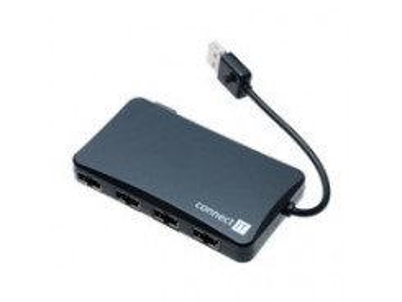 Connect IT USB 2.0 HUB so 4 portami