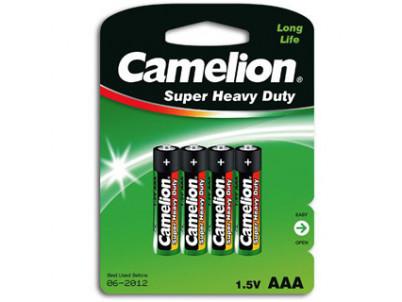 CAMELION Batérie SUPER HD zink-chlorid AAA 4ks R03