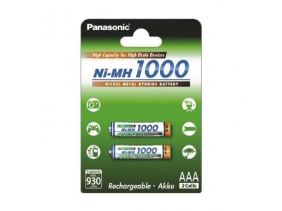 PANASONIC High Capacity, Batérie, BK-4HGAE, AAA, 2