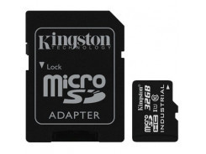 KINGSTON Micro SDHC INDUSTRIAL 32GB UHS-I + Adap