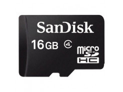 SanDisk Micro SDHC card 16GB CL4
