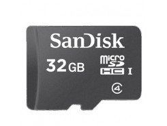 SanDisk Micro SDHC card 32GB CL4