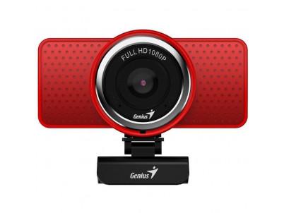 GENIUS ECAM 8000, Webkamera FHD s mikrofónom red